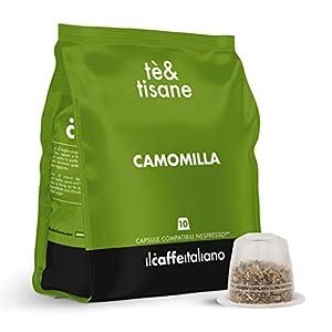 FRHOME - 50 Capsule compatibili Nespresso Camomilla - Il Caffè Italiano