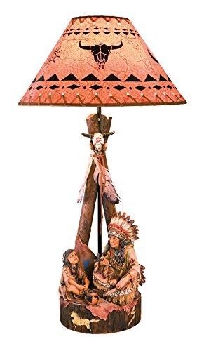 Katerina Prestige-lámpara-Indio con niño, in0193