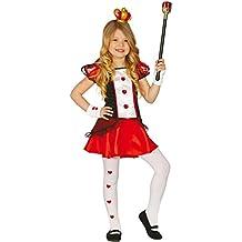 Fiestas paolian Bambi Reina de cuori-Bambina 10 12 años (DE A 142 02a6caed0f6