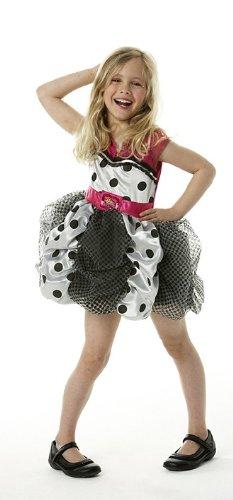 Hannah Montana Puff Ball Kleid Größe L (Hannah Montana Halloween)