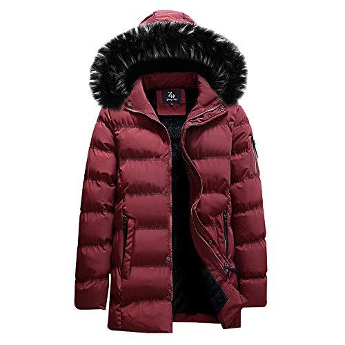 Daunenjacken Herren UFODB Snowboard Daunenjacke Jacke Basic Jacket Hoodie Sportjacke Steppjacke übergangsjacke Mit Kapuze Herrenjacke Mantel Sportliche Winter