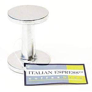 RSVP Coffee Machine Terry's Tamper Cast Alloy Espresso Press 50 & 56 mm Base TAM