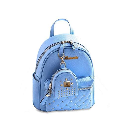 Best college bags flipkart in India 2020 JSPM® Women BackPack With Beautiul Blue Color Casual Backpak (SP-083 Blue) Image 3
