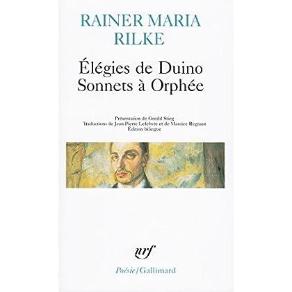 Élégies de Duino - Sonnets à Orphée et autres poèmes