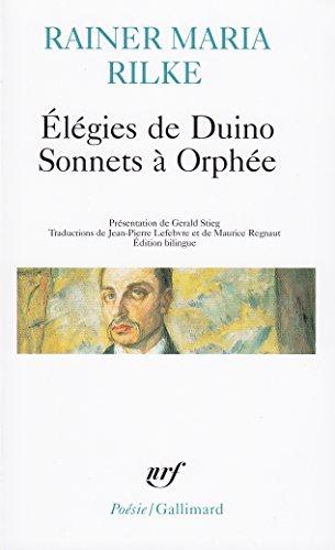 Élégies de Duino - Sonnets à Orphée et autres poèmes par Rainer Maria Rilke