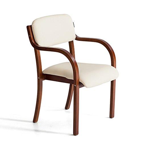 SUBBYE Chaises Chaise De Salle À Manger En Bois Massif Moderne Simplicity Dossier Chaise Nordic Fauteuil Chaise D'ordinateur Couleur En Option ( Couleur : Beige , taille : 3 pieces )