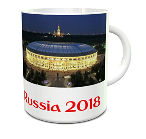 World Cup 2018 Russia Schedule All stadium group and matches Luzhniki Stadium on a 11oz ceramic mug