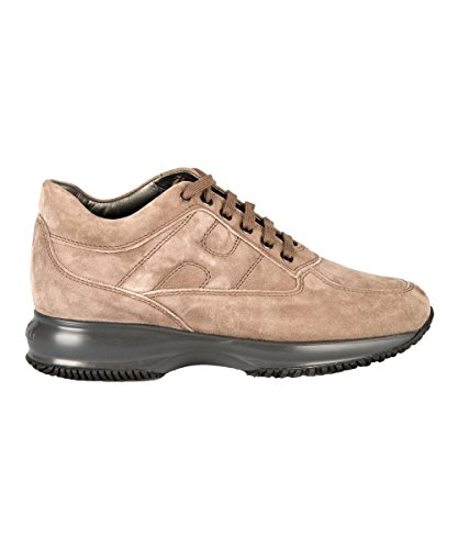 Hogan sneakers donna hxw00n00010cr0c407 camoscio marrone