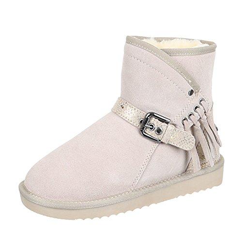Chaussures, 5803 bOOTS Beige - Beige 2