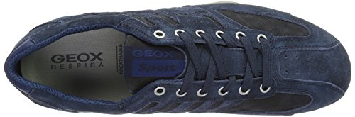 Geox Herren Uomo Snake H Low-Top Blau (Navyc4002)