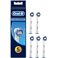 Oral-B Precision Clean Aufsteckbürsten für elektrische Zahnbürsten, 1er Pack (1 x 5 Stück)