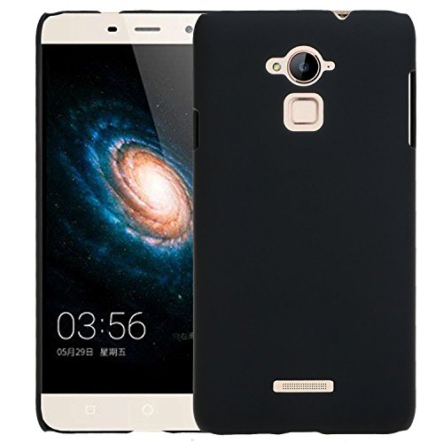 SDO™ Luxury Matte Finish Rubberised Slim Hard Case Back Cover for Coolpad Note 3 Plus 5.5 inch (Black)