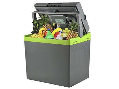 MALATEC Elektrische 25/30 L Kühlbox Wärmebox Campingbox 12V/230V Stecker #5232, Größe:25L