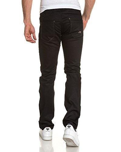 BLZ jeans - Schwarz bestickte Jeans richtige Art und Weise Schwarz