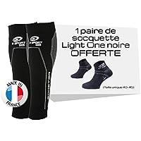BV SPORT - Manchon - Pack BOOSTER ELITE Noir + Socquette Noir