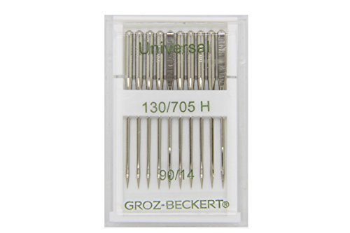 Groz-Beckert 10Paquete Universal Agujas 130/705H