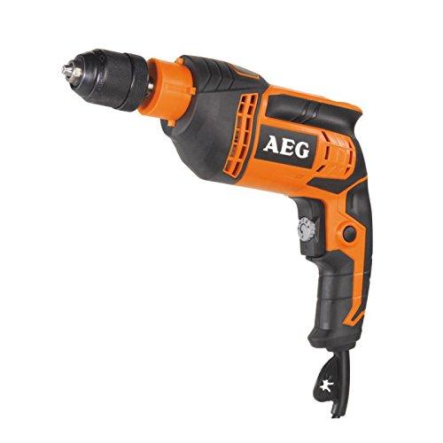 AEG 4002395245116 Perceuse Visseuse 1 Vitesse, 750 W, Multicolore