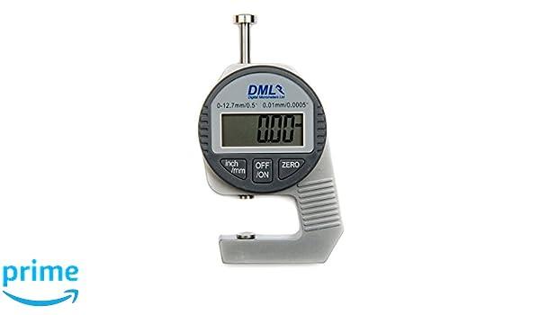 Laser Entfernungsmesser Genauigkeit 0 01mm : Dickenmessgerät digital mm hd amazon gewerbe