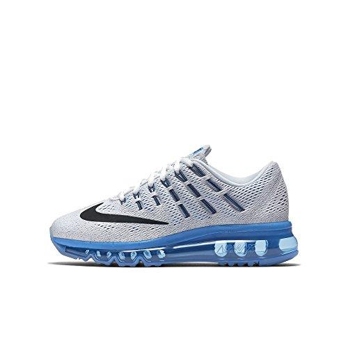 Nike - White / Black-pht Blue-pr Pltnm, Scarpe sportive Bambino Bianco (Blanco (White / Black-Pht Blue-Pr Pltnm))