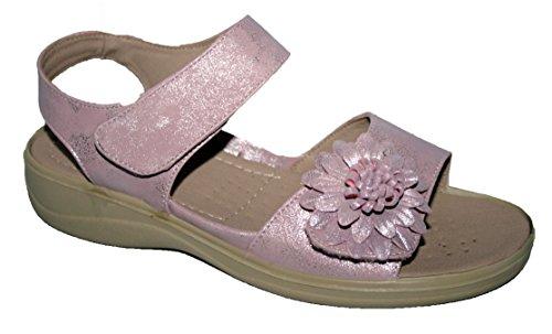 5ee3cdf53c2 Cushion Walk Ladies Lightweight Summer Sandal with Touch Close Strap (UK5