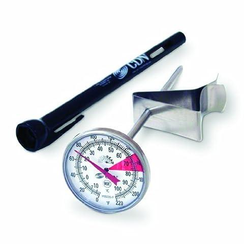 CDN Thermomètre Précision professionnelle Pour production de mousse et boissons 14cm -18C à +104C