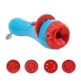 Wovemster Projektor-Taschenlampe Nachtlicht Erleuchtung kognitive Slide Taschenlampe Projektor Ausrüstung Baby Sleep Bedding Story Early Development Spielzeug für Baby Kids