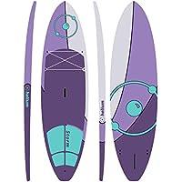 Levelsix - Juego de Tabla de Surf con Pala de Aluminio y Accesorios