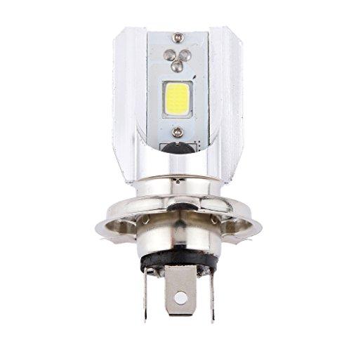 Generic H4 80W Weiß LED Motorrad Lampe Glühbirne Blinker Scheinwerfer Vorn