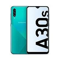 هاتف سامسونج جالكسي A30s بشريحتي اتصال - 128 جيجا، 4 جيجا رام، الجيل الرابع ال تي اي، اخضر