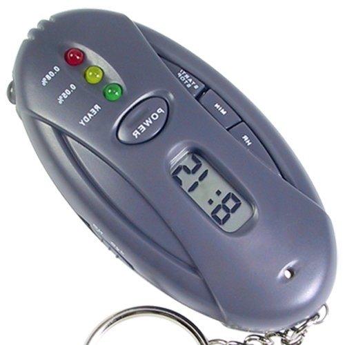 3 en 1 LCD Alcoholimetro etilometro digital de bolsillo con medicion aliento 10 segundos no mas sanciones conduce seguro de OPEN BUY