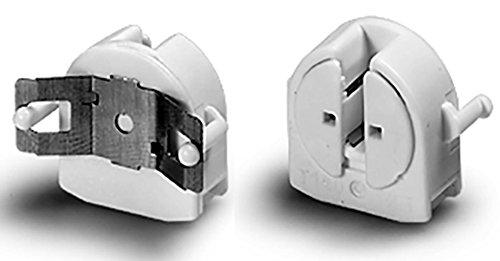 1x Fassung mit federndem Längenausgleich für T5 TL5 Leuchtstofflampen 16mm G5 Aufbau Neonlampe Vossloh 505744 - T5 Fassung