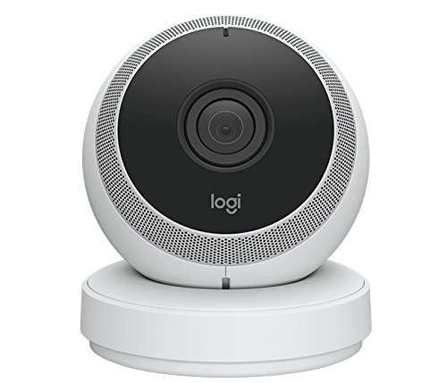 LOGITECH Circle Home Security Camera - RF - EMEA - WHITE (Cam Connect Ip)