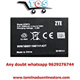 Pcs System-Riviera Airtel Zte 4G Hotspot Wd 670 Battery (Backeup 4 Hrs to 8 Hrs)
