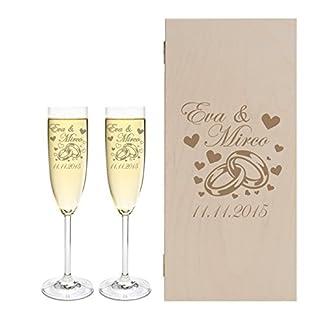2-Leonardo-Sektglser-mit-Geschenkbox-und-Gravur-Ringe-Hochzeit-Geschenkidee-Sektglas-Set-graviert
