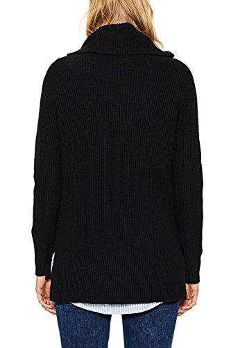 Esprit, Pull Femme Multicolore (Black 001)