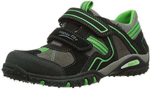 Superfit SPORT4, Sneaker bambini Nero nero Nero (Schwarz (SCHWARZ KOMBI 02))