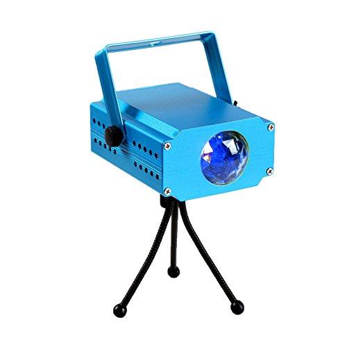 TSSS® Blau Wasserwelle Lichteffekt DJ Disco Party LED Bühnenlicht Ozean Meer Wellen Projektor Bühnenbeleuchtung