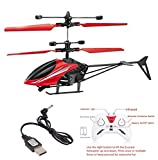 VG Toys & Novelties 2 in 1 Hand Induction Flying Helicopter with Remote