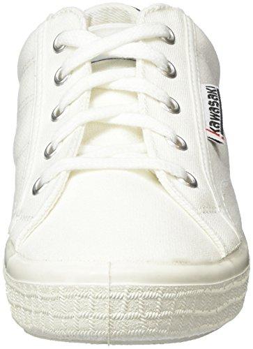 Kawasaki Badmin 2.0, Sneaker Basse Unisex - Adulto Bianco (Weiß (White, 01))