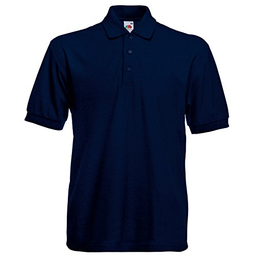 Fruite of the Loom Heavy Polo Shirt, vers. Farben Deep Navy