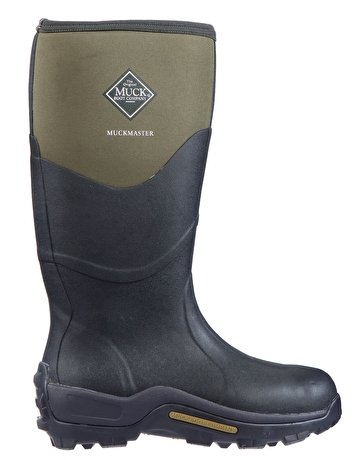 The Muck Boot Company Muckmaster Moss, The original neoprene lined wellie! Green