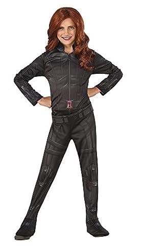 Black Widow - Marvel - Guerre civile - enfants Costume de déguisement - Petit - 117cm - Age 3/4