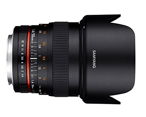 Samyang 50 MM F1.4 Lens for PENTAX-K connector