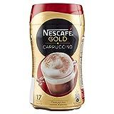 Nescafé Gold Cappuccino Preparato Solubile per Cappuccino Barattolo, 250 g