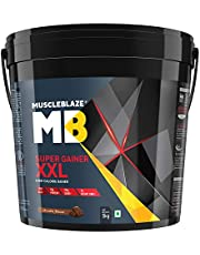 MuscleBlaze Super Gainer XXL 11 lb Chocolate