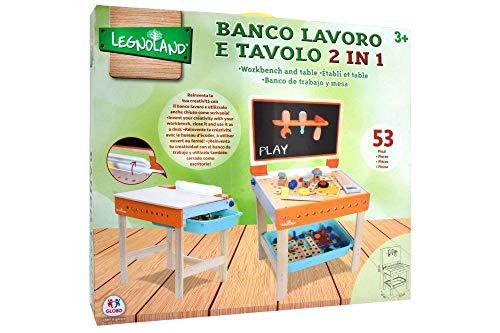 Banco Colore Arancione azzurro C.t. 03195 Da Lavoro