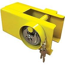 Attache de remorque solide avec serrure et clés pour sécurité de caravane/remorque