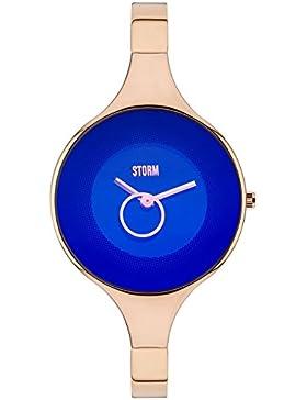 STORM London Ola Damenuhr roségoldfarben/blau 47272/B