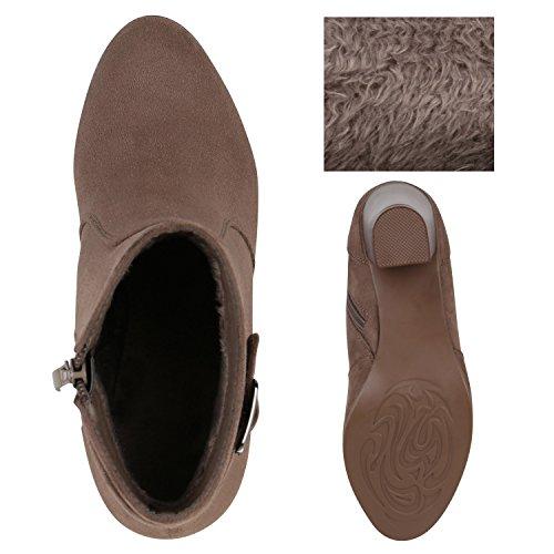 As Senhoras Fivela Clássico Em Cáqui Bloco Ankle Vendas Boots Alinhadas qgwpvn