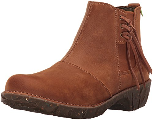 El Naturalista Nf97 Pleasant Wood/Yggdrasil, Stivali Chelsea Donna, Marrone (Brown N12), 39 EU